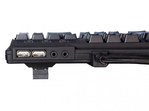 QPAD MK-90 klawiatura mechaniczna podświetlenie LED RGB