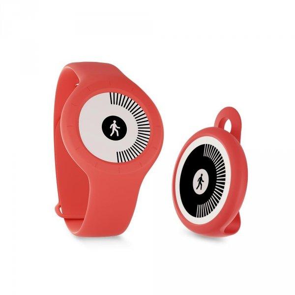Withings Go - monitor aktywności fizycznej i snu z wyświetlaczem E Ink (czerwony)
