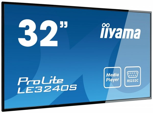 Monitor IIYAMA 32 LE3240S-B1 FullHD IPS USB Media Player