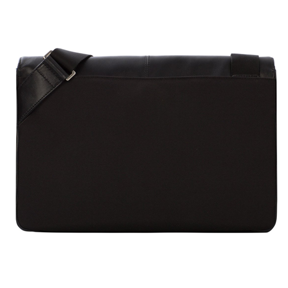 "Knomo Kinsale Torba skórzana na ramię do MacBook Air 13"" / MacBook Pro 13"" Black (czarny)"