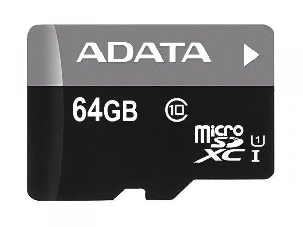 ADATA Premier 64GB microSDXC UHS-I 50MB/s + adapter