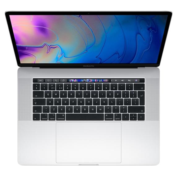 MacBook Pro 15 Retina Touch Bar i7-9750H / 16GB / 2TB SSD / Radeon Pro 560X / macOS / Silver (2019)