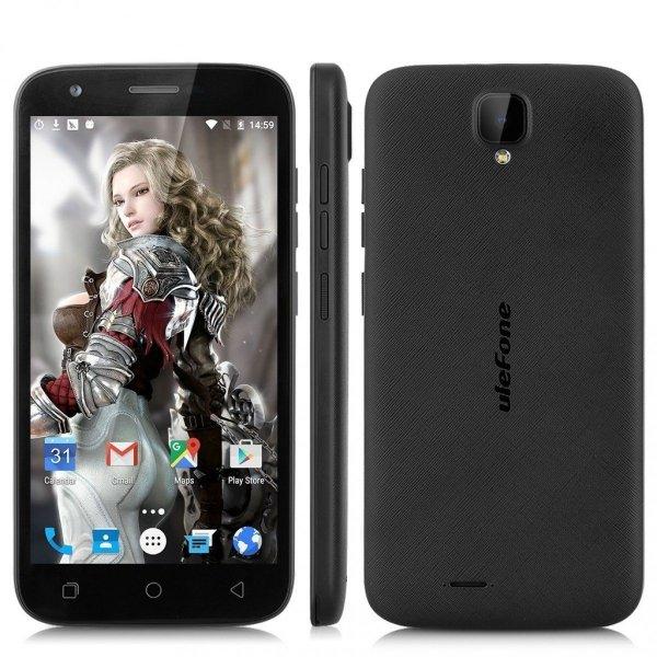 """Smartfon Ulefone U007 8GB 5"""" (czarny) POLSKA DYSTRYBUCJA +Etui"""