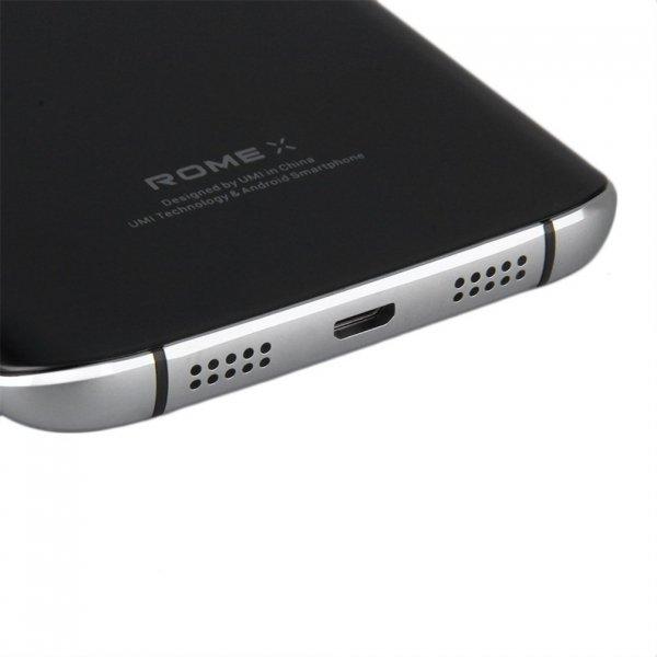 """Smartfon Umi Rome X 8GB 5,5"""" (czarny) POLSKA DYSTRYBUCJA"""