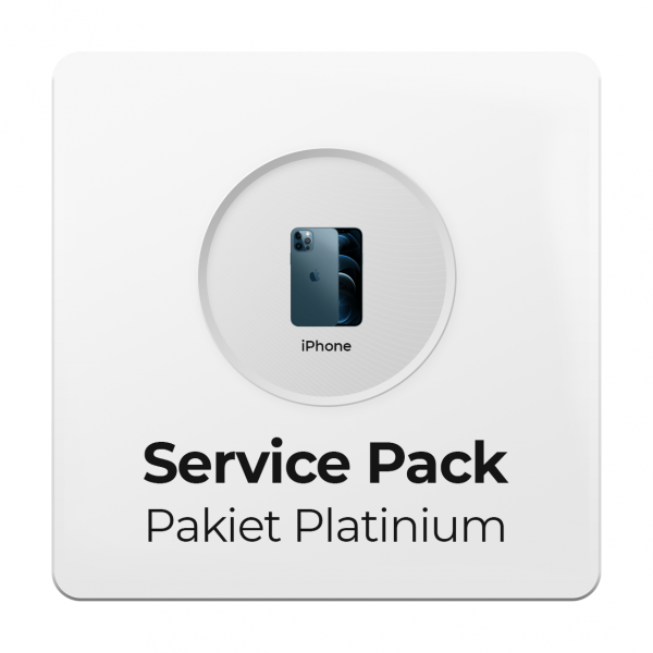 Service Pack - Pakiet Platinium 3Y do Apple iPhone