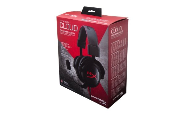 Kingston HyperX Cloud (czarne) KHX-H3CL/WR