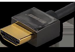 Kabel HDMI Wireway 2.0 Slim 5m pozłacany