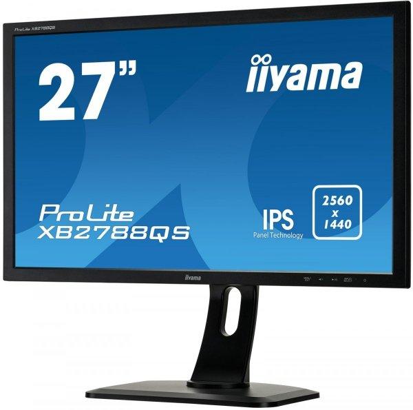 Monitor IIYAMA XB2788QS-B1 27 WQHD IPS HDMI DP PIVOT