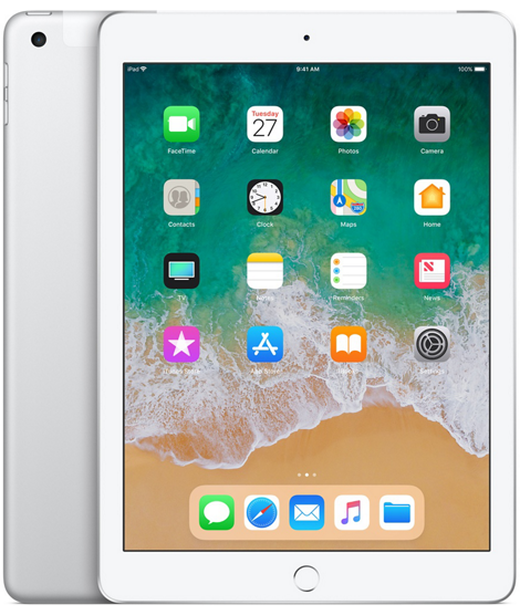 Apple iPad 6-gen 9,7 32GB LTE + Wi-Fi Silver