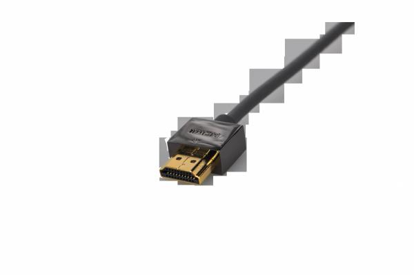 Kabel HDMI Wireway 2.0 Slim 4m pozłacany