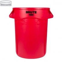 Kontener okrągły BRUTE® 121,1L Red