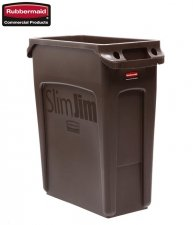 Kosz Slim Jim® With Venting 60L Brown