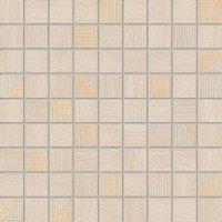 Domino Woodbrille Beige Mozaika 30x30