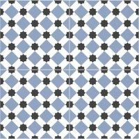 Durham Blue Pre Cut 45x45
