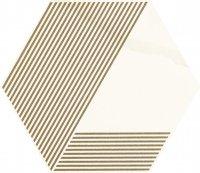 Paradyż Calacatta Hexagon Mat. A 17,1x19,8