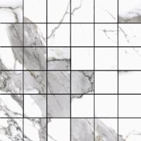 Cerrad Calacatta White Satyna Mozaika 29,7x29,7