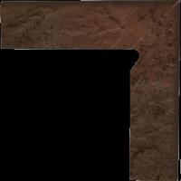 Semir Brown Cokół 2 El. Prawy 8,1x30