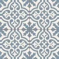 Duomo Berkeley Slate Blue 45x45