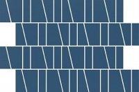 Zambezi Blue Trapeze Mosaic Matt 20x29,9