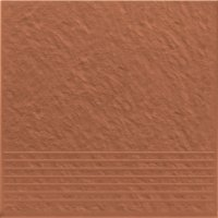 Simple Red Stopnica Prosta 3-D 30x30