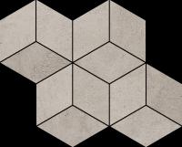 Paradyż Pure City Grys Mozaika Romb Hexagon 20,4x23,8