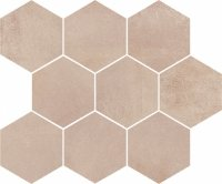 Arlequini Mosaic Hexagon 28x33,7