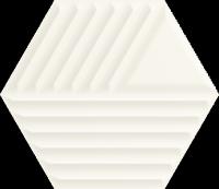 Woodskin Bianco Heksagon Struktura C 19,8x17,1