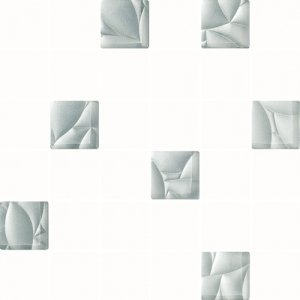 Paradyż Esten Bianco/Silver Mozaika 29,8x29,8
