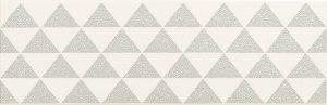 Domino Burano Bar White B Dekor 23,7x7,8