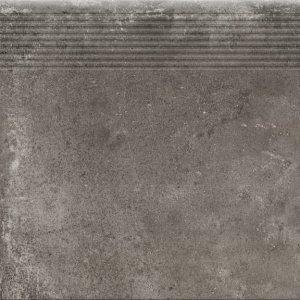 Cerrad Piatto Antracyt Stopnica Prosta 30x30