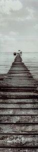 Tubądzin Blinds Obraz Szklany 8 - elementowy 59,8x239,8