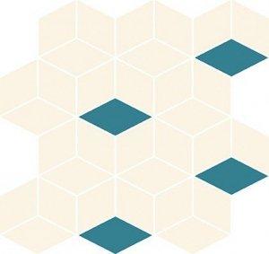 Cersanit Colour Blink Mosaic Diamond Mix 28x29,7
