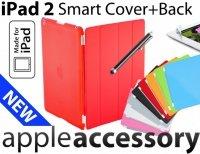 4w1 Smart Cover+Back Cover + Folia + C Pen iPad 2