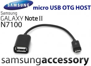 Adapter Kabel micro USB Samsung Galaxy Note 2 II N7100