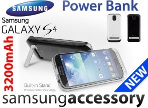 ETUI Power Bank Case Galaxy S4 Bateria Ładowarka