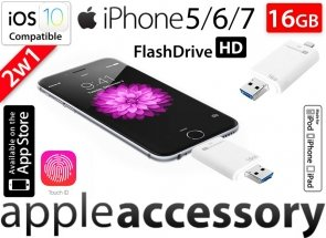 Pamięć FlashDrive do iPhone 5 6 7 Plus 16GB