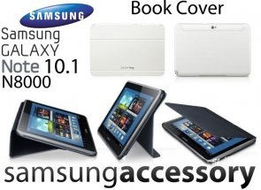 Samsung Galaxy Note 10.1 N8000 Book Cover ETUI