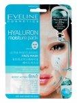 Eveline Sheet Mask Hyaluron Maska na tkaninie 8in1 ultranawilżająca  1szt