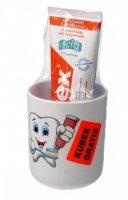 Elmex Pasta do zębów Dla Dzieci Junior 5-12 lat  75ml + kubek