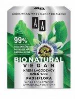 AA Bio Natural Vegan Krem łagodzący Passiflora na dzień i noc  50ml