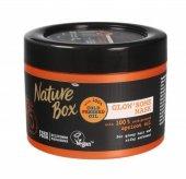 Nature Box Apricot Oil Maska do włosów nadająca połysk  200ml