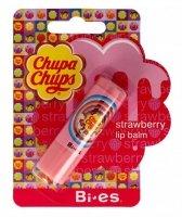 Bi-es Chupa Chups Pomadka ochronna Strawberry  1szt