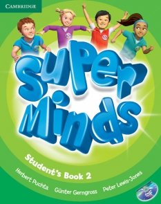 Super Minds 2 Student's Book + DVD
