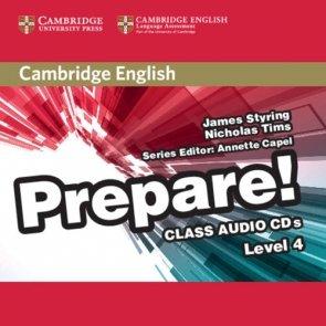 Cambridge English Prepare! 4 Class Audio 2CD