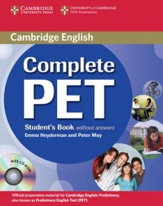 Complete PET Student's Book without answers+ CD