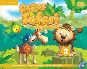 Super Safari 2 Pupil's Book + DVD