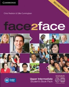 face2face Upper Intermediate Student's Book with online workbook +DVD