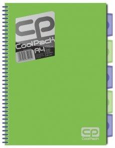 Brulion A4 CoolPack 200 kartek zielony neon