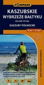 Kaszubskie Wybrzeże Bałtyku mapa turystyczno-krajoznawcza