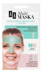 AA Multi Maska Maseczka na twarz wygładzenie zmarszczek + lifting  2x5ml